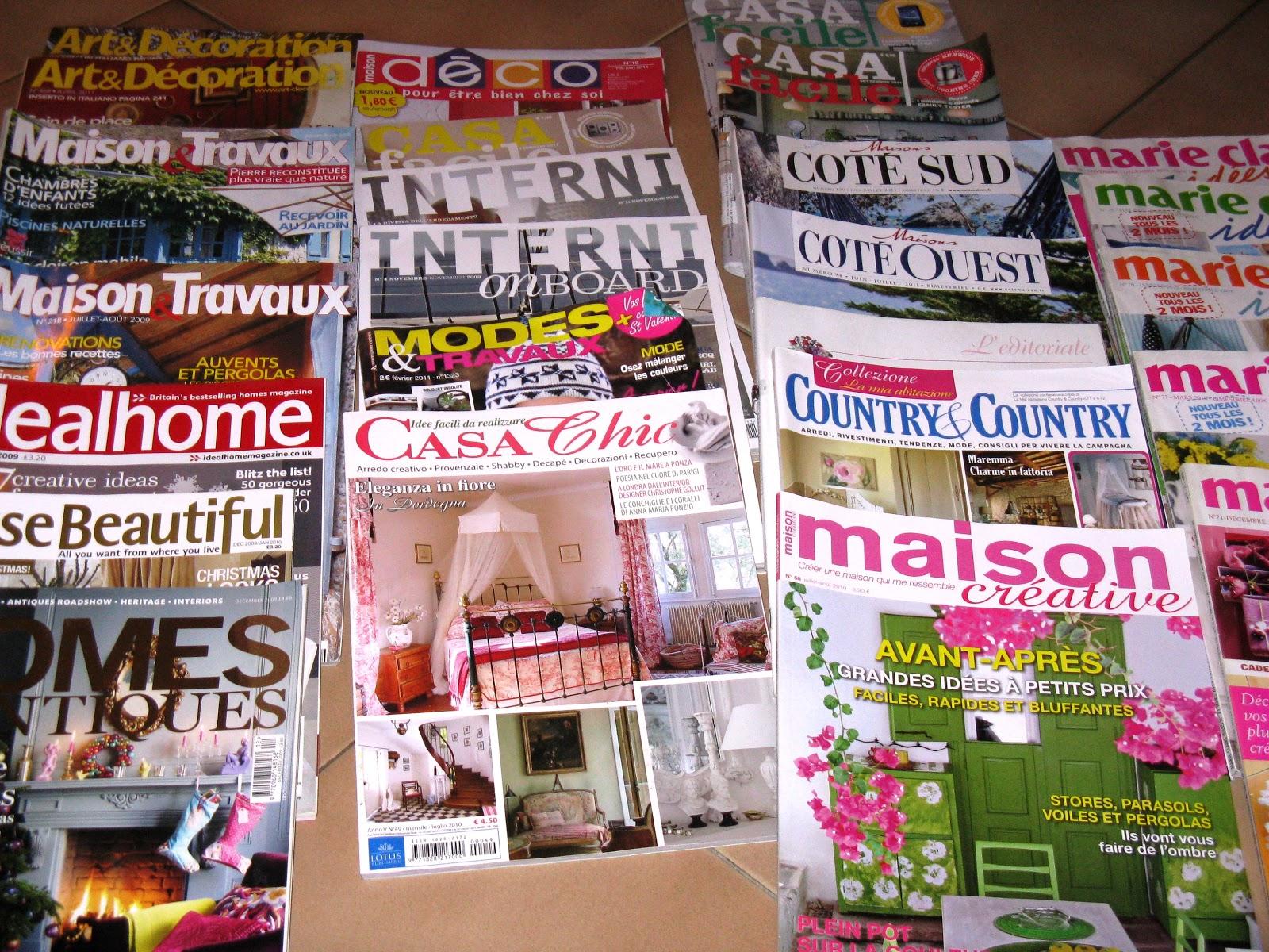 Il club del baratto riviste per la casa da collezionare for Riviste di case