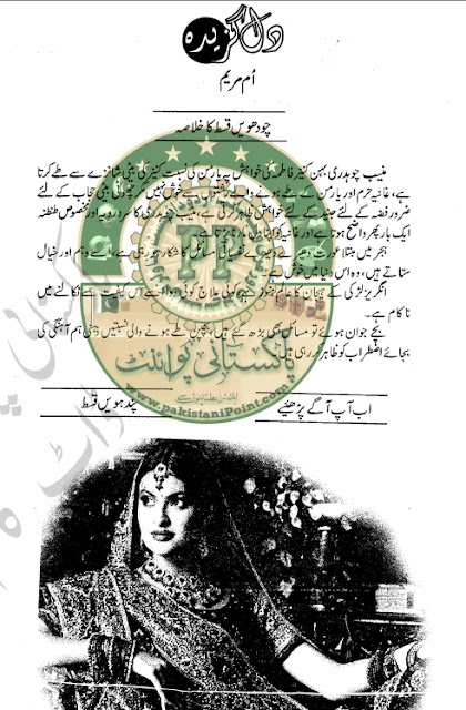 Dil gazeeda Episode 15 novel by Umme Maryam pdf