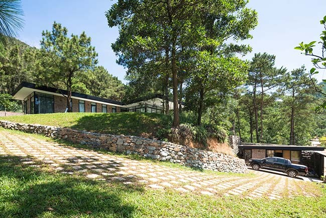 Beautiful Design Villa Hidden Between Pine Hill