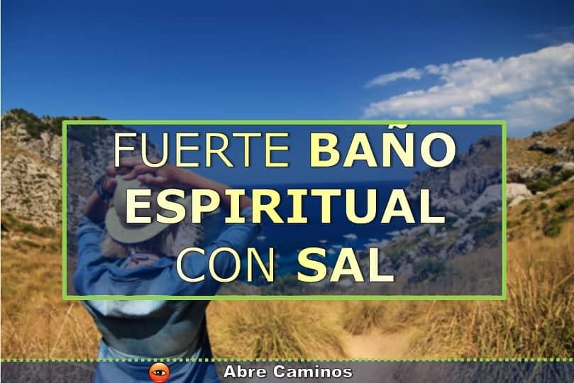 Baño espiritual con sal