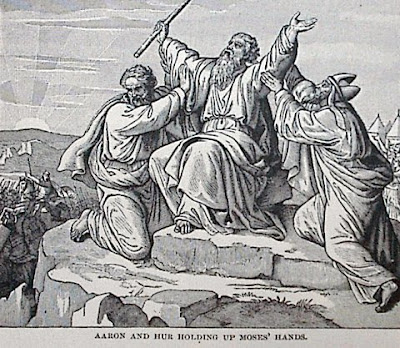 Public Domain image from The Story of the Bible by Charles Foster,   Illustrations by F. B. Schell and others
