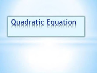 QUADRATIC EQUATION SHORTCUT TRICK AND FORMULA