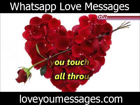 whatsapp love messages