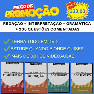Curso de Português do Professor Leo