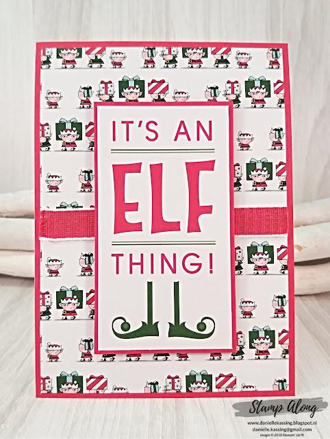 Stampin' Up! Santa's Workshop Memories & More Card Pack