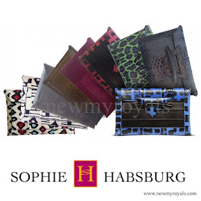Countess Sophie Carried Sophie Habsburg clutch bag