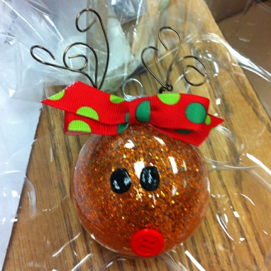 Oh Christmas Tree Crafts: Reindeer Ornament