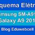Esquema Elétrico Samsung SM-A910F Galaxy A9 2016 - Manual de Serviço