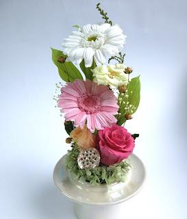 ガーベラの供養花