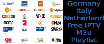 Free IPTV M3u SKY Germany Premium Italy Netherland