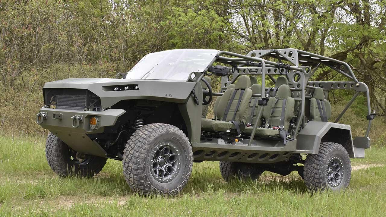 GM Defense Infantry Squad Vehicles (ISV)