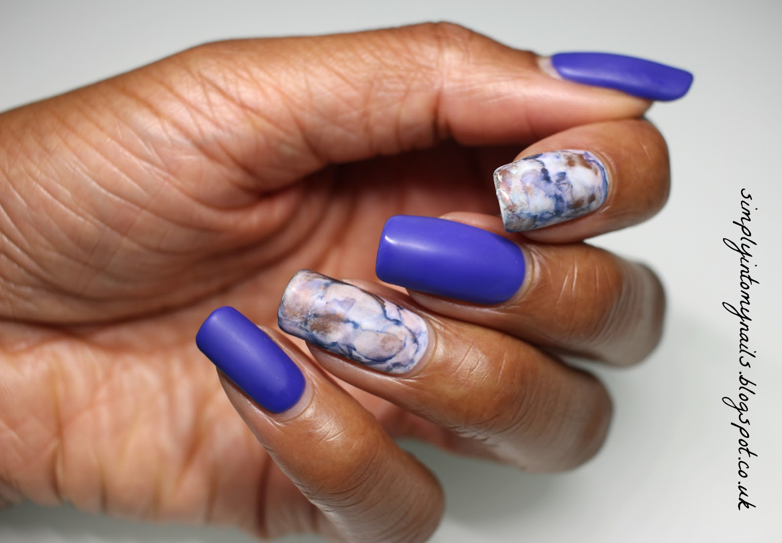 Matte Marble Manicure | Simply Into My NAILS