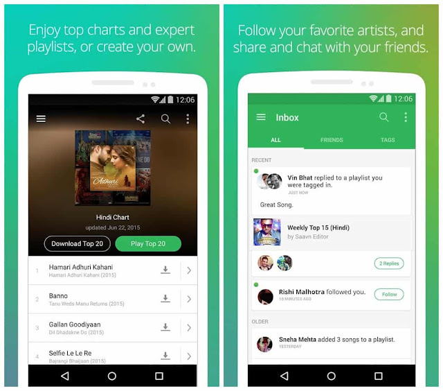 saavn pro apk free download for android