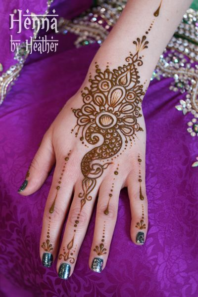 Henna Peacock Tattoo Lower Back: 11 Best Peacock Henna Mehndi Designs