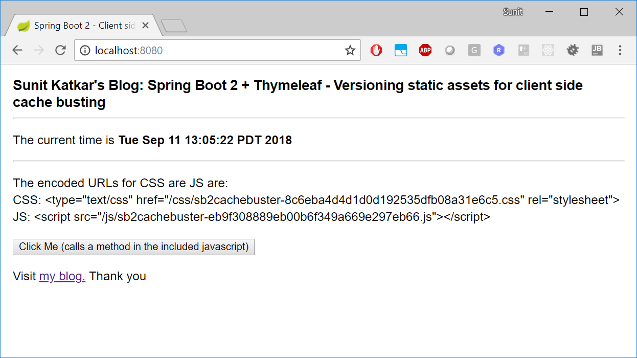 Thymeleaf Current Url With Parameters