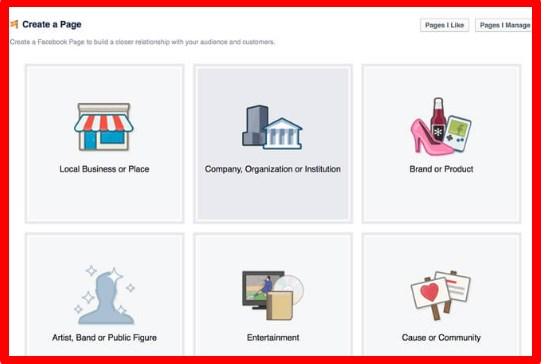 how to build a facebook business page 2017