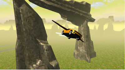 Flying Muscle Car Simulator 3D v2 Apk 1