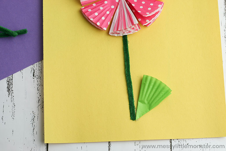 Spring flower craft for kids