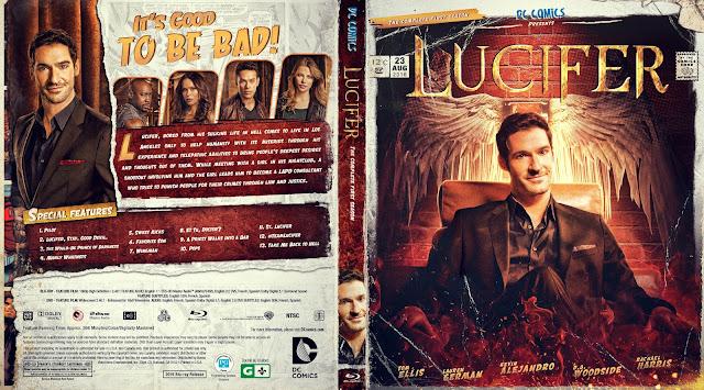 Lucifer Season 1 Bluray Cover