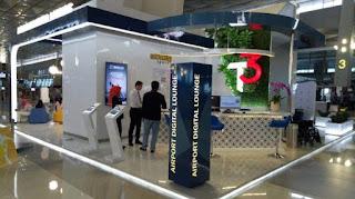 Airport Digital Lounge di Bandara Soekarno-Hatta - Foto/Humas Kemenpar