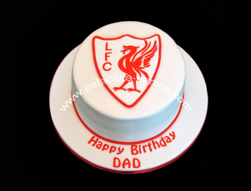 Pat A Cake Parties Liverpool Fc Cake