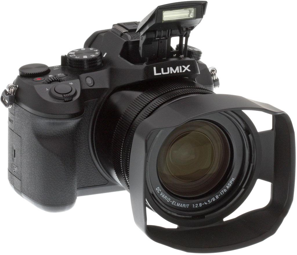 Panasonic Lumix FZ2500, с блендой