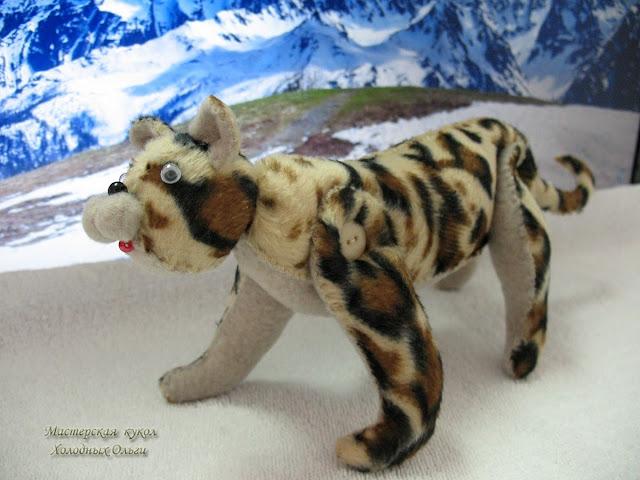 Леопард в горах