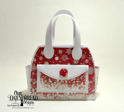 ODBD Custom Dies: Timeless Totes, Timeless Totes Layers, Double Stitched Circles  Paper Collection: Snowflake Season