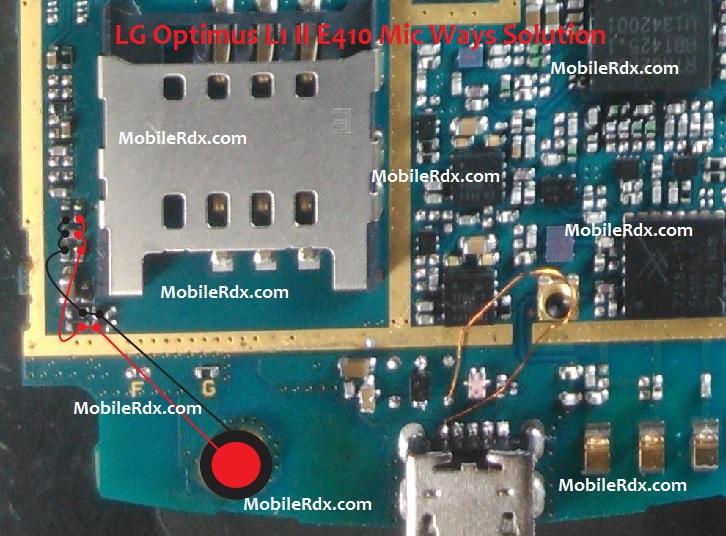 Lg Optimus L1 Ii E410 Mic Problem Solution Jumper