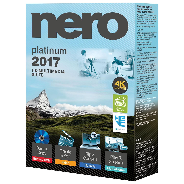 Nero Platinum Download for Windows 10, 8, 7