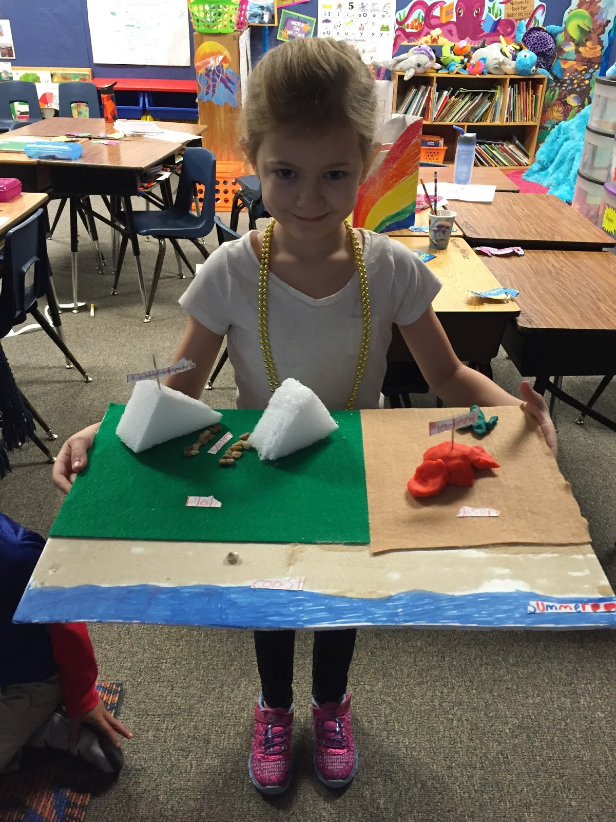 Mrs Shores First Grade Resource Reef LANDFORM PROJECTS
