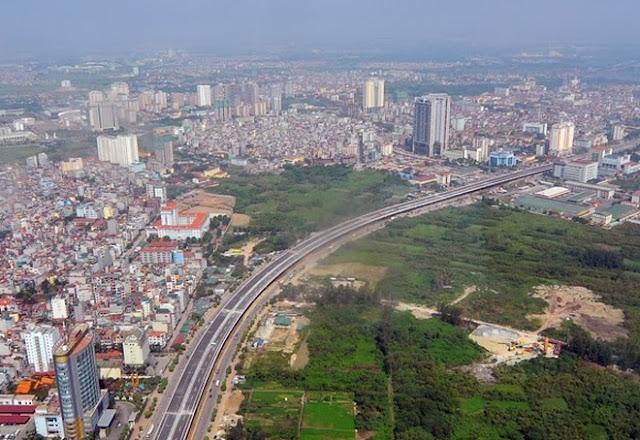 Dải đất phía Tây Hà Nội đang triển khai nhiều dự án BĐS