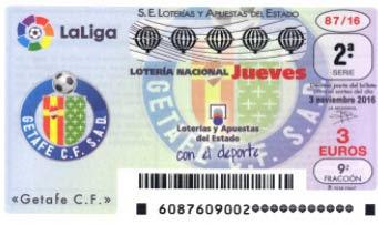 Loteria nacional del jueves 3 de noviembre de 2016