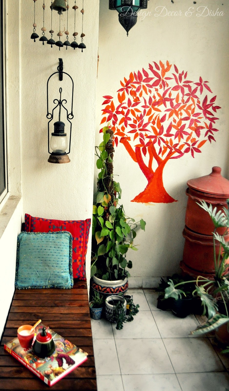 An Indian Design & Decor Blog: Home Tour: Padmamanasa Jwalaniah