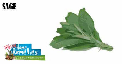 Home Remedies For Foot Tendonitis: Sage