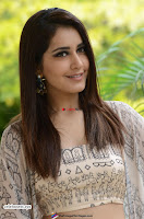 Rashi Khanna in a Tebe Top Sizzling Beauty at Tholi Prema Movie Interview ~  Exclusive 013.jpg