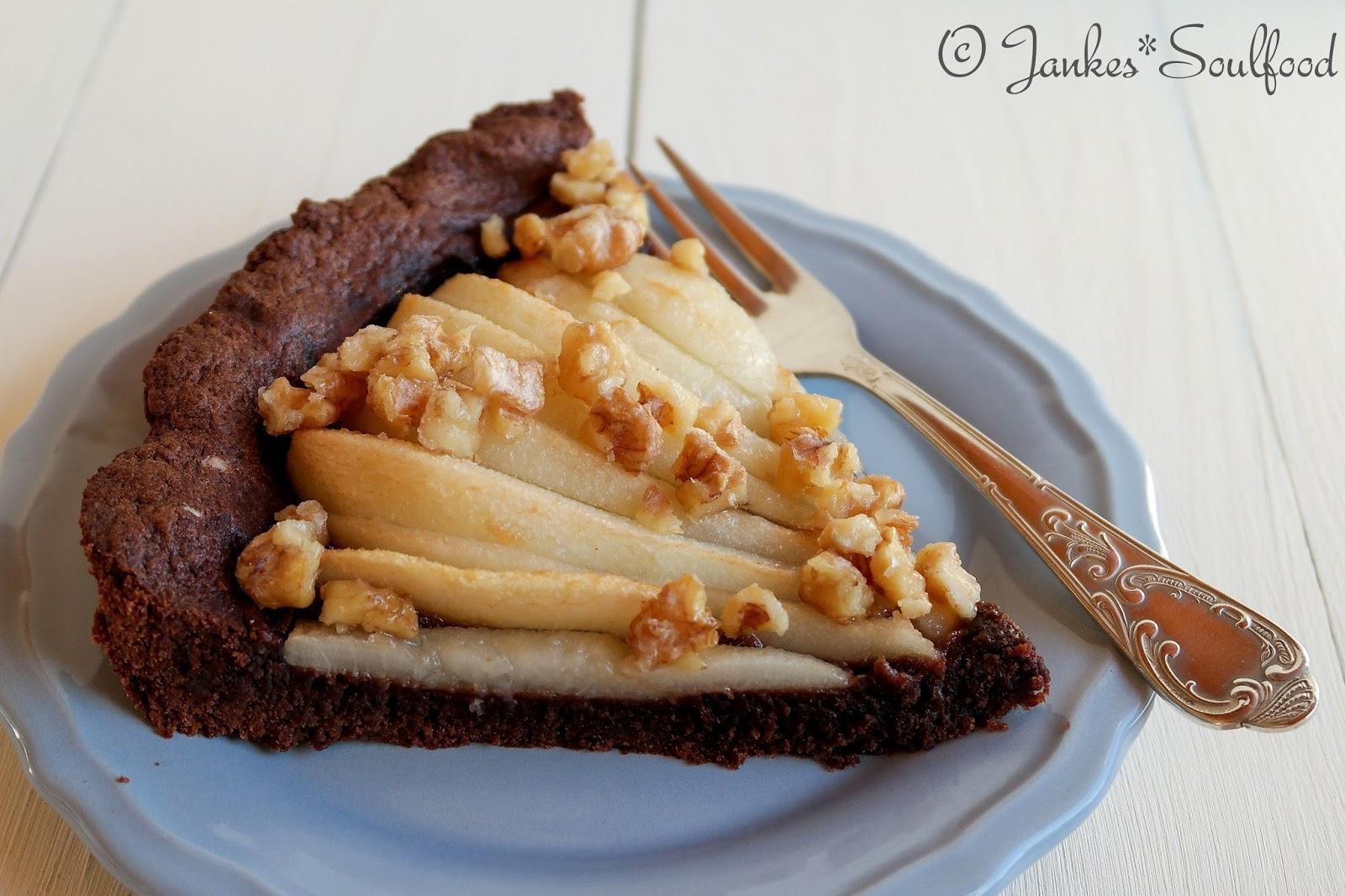 Birnen Tarte von Jankes Soulfood