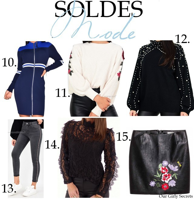 Jeans Industry - Robe sport à bandes 39.90€ 33.92€   11. Outfitbook - Pull  en maille douce 34.99€ 26.99€   12. Outfitbook - Pull Noir avec perles  39.99€ ... 0bd640de45d7