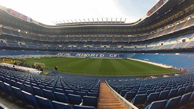 Estadio Santiago Bernabéu panorámica