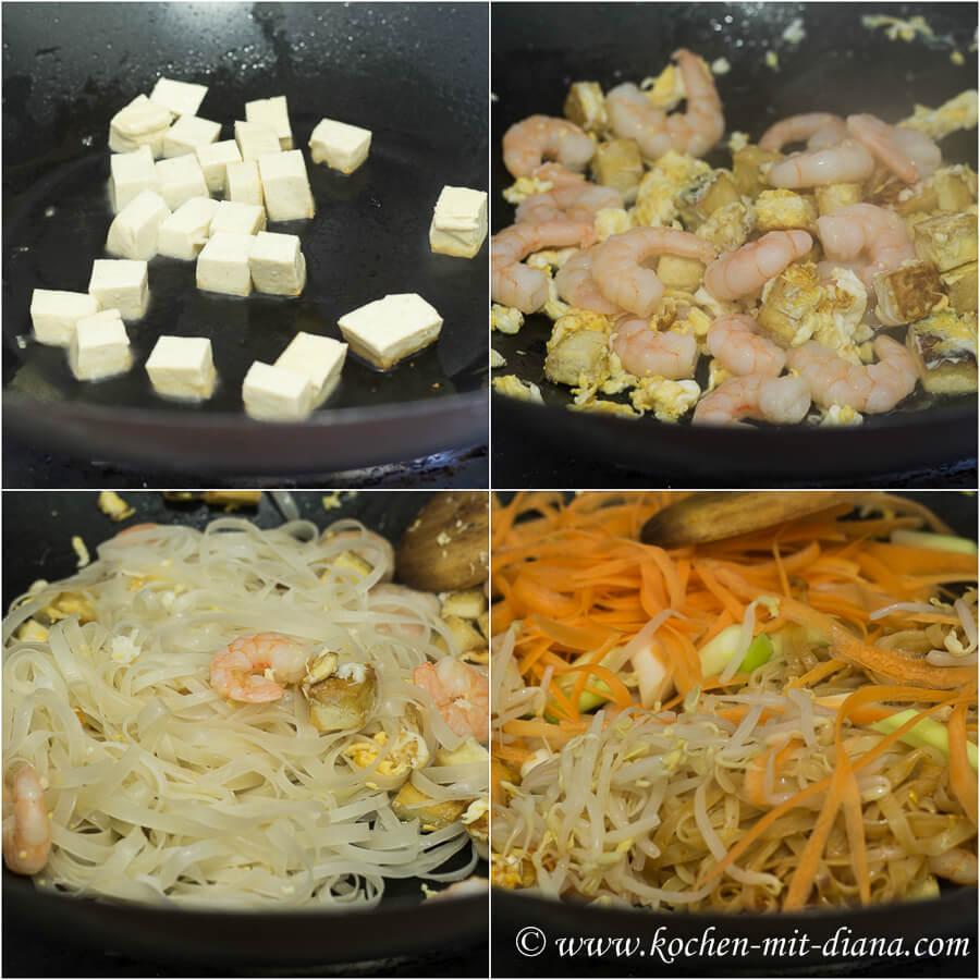 Phad Thai zubereiten