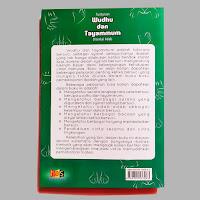 Buku Tuntunan Wudhu dan Tayammum Disertai Adab