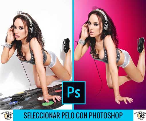 Tutorial Photoshop en Español Selección de Cabello