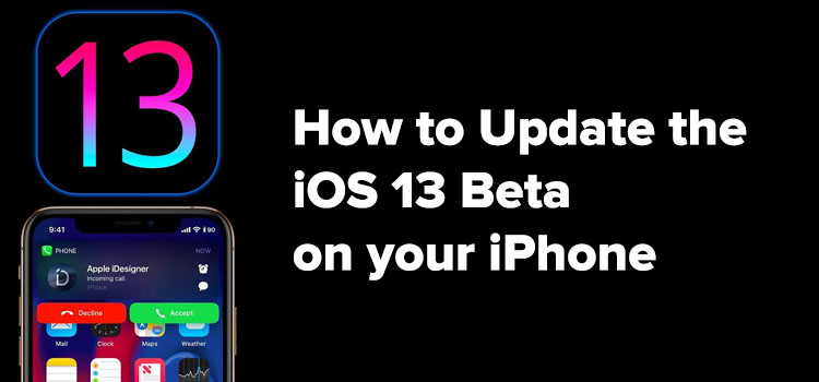 iOS 13 Beta Installation