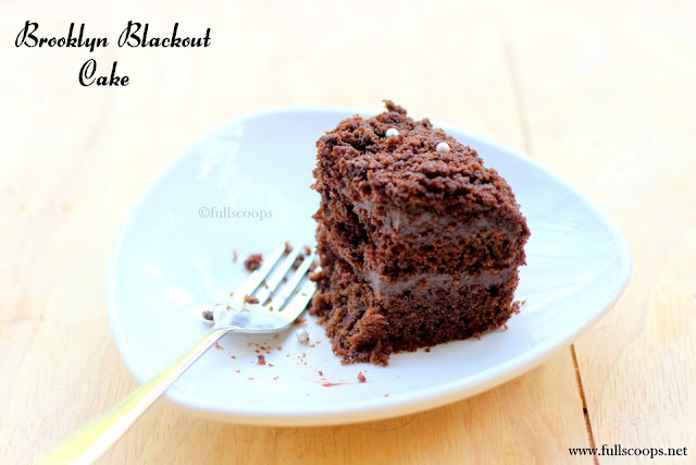 Brooklyn Blackout Cake