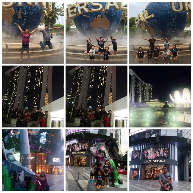 Roaming around Universal Studios Orchard Road Marina Bay Sands in Singapore