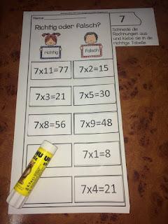 Abwechslungsreiche Arbeitsblätter. So lernen Kinder das 1x1 ganz einfach!