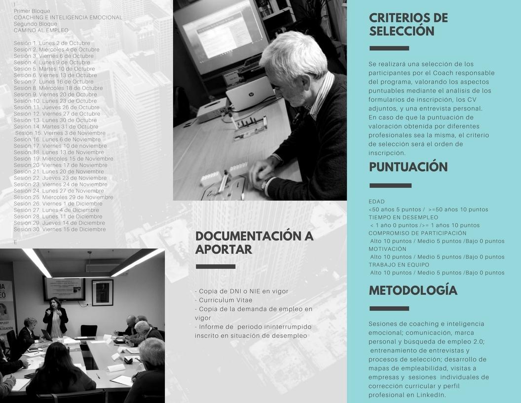 Club de Empleo Sénior de Pozuelo de Alarcón: 2017