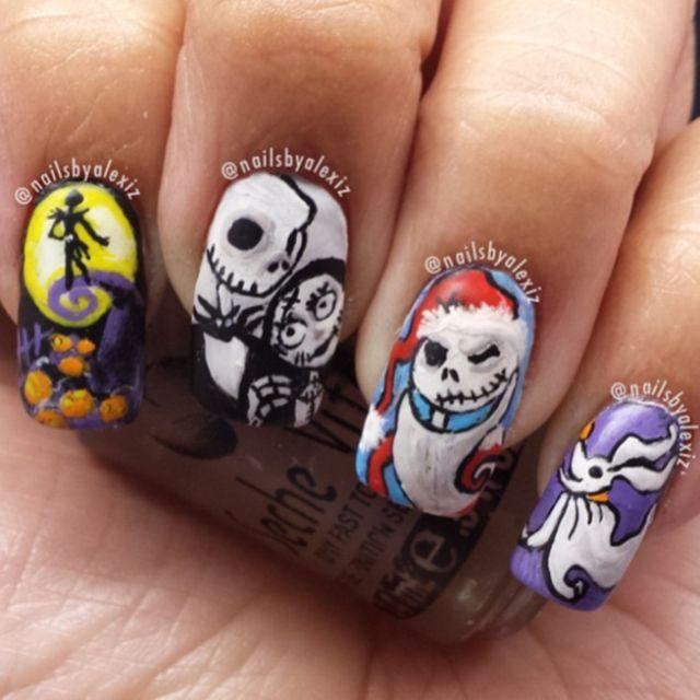 Halloween Nail Polish Designs: Create Best Halloween Nail Designs And Nail Polish Tips