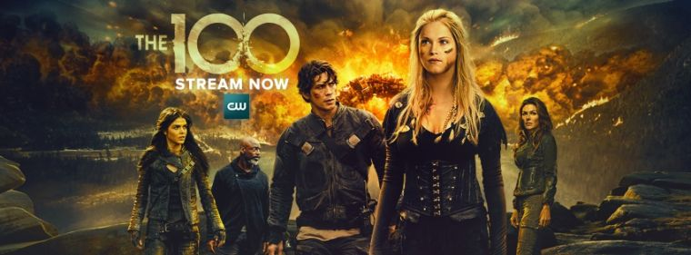 The 100 - 5ª Temporada 2018 Série 1080p 720p BDRip FullHD HD completo Torrent