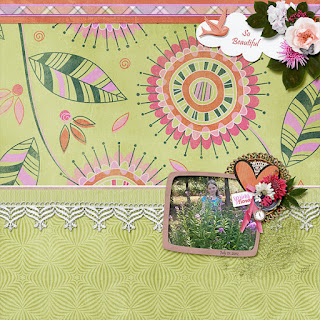 Creative Team, Annemarie, for GingerScraps -  360° Life All About May Collection by Aimee Harrison and Freebie Coordinating QP